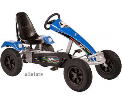 Allstars Dino Cars GoKart Stylez S314 BF1 Kettcar silber-blau