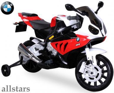 Allstars Kinder Elektromotorrad BMW S 1000 RR rot Lizenz E-Pocketbike