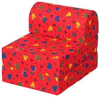 Bänfer Kinder Klappsessel MINI Klappliege Liege Farbwahl Polyester - Vorschau 1