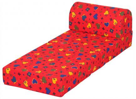 Bänfer Kinder Klappsessel MINI Klappliege Liege Farbwahl Polyester - Vorschau 2