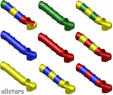 Beckmann Rutsche Röhrenrutsche L= 2, 6 m PH 1, 0 m Modulrutsche - Vorschau 3