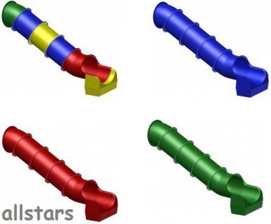 Beckmann Rutsche Röhrenrutsche L= 4, 3 m PH= 2, 0 m Modulröhrenrutsche - Vorschau 2