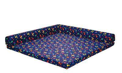 Bänfer Kindermöbel Spielecke Matratze Schlafecke klappbar 1, 8 m PU Bezugwahl - Vorschau 2