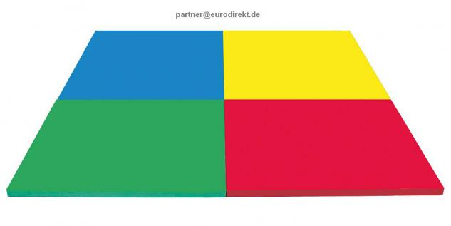 Bänfer Fallschutzmatte Matte 2 x 1 m Farbwahl Klettecken Spielmatte Schaumstoff