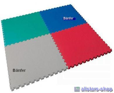 Bänfer Fallschutzmatte Schutzmatte Turnmatte Bodenturnmatte 1 m² Vario-Top rot - Vorschau 3
