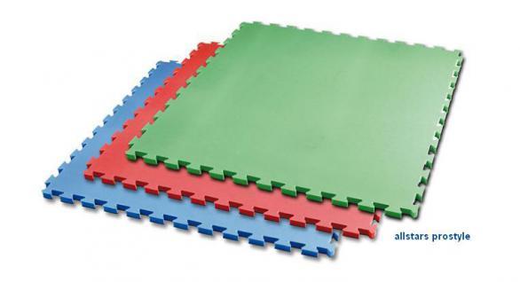 Bänfer Fallschutzmatte Vario Step blau 4 Stück Steckmatte Spielmatte