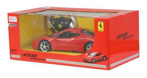 Jamara Auto 1:14 Ferrari 458 Italia GTO rot ferngesteuert RC-Auto - Vorschau 4