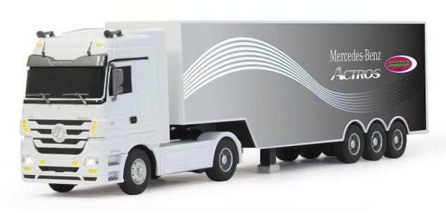 Jamara LKW Mercedes Actros 1:32 Truck Vierzigtonner ferngesteuert RC-Auto