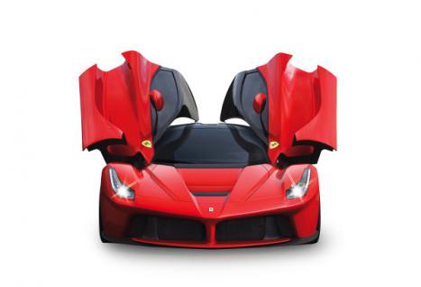 RC Auto Ferrari LaFerrari 1:14 rot LED Licht Funk Schmetterlings-Türen Jamara