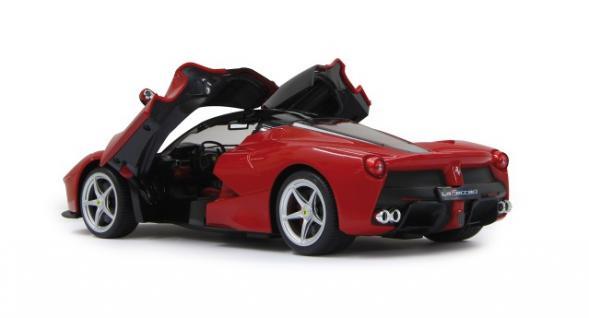 RC Auto Ferrari LaFerrari 1:14 rot LED Licht Funk Schmetterlings-Türen Jamara - Vorschau 3