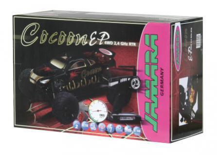 RC Auto Cocoon RTR 1:10 EP 4WD black Truggy ferngesteuert Modellauto Funk Jamara - Vorschau 3