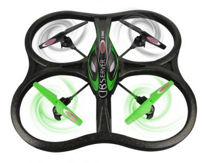 RC Drohne Observer Quadrocopter Kamera Gyro Carbon Flugzeug ferngesteuert Jamara
