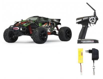 RC Auto Veloce EP 1:10 Modellauto bis 65 km/h 4 WD Truggy Funk 2, 4 GHz Jamara - Vorschau 2