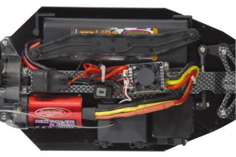 RC Auto Veloce BL Lipo 1:10 Modellauto bis 65 km/h 4 WD Truggy Funk Jamara - Vorschau 3
