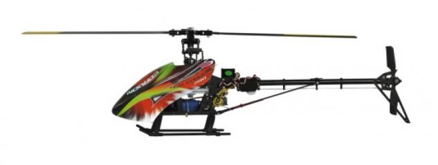 Jamara Hubschrauber E-Rix 450 Carbon Pro RTF Gas rechts Helikopter Gyro RC