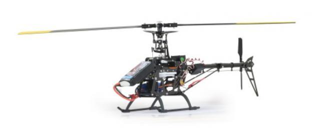 Jamara Hubschrauber E-Rix 450 Carbon Pro RTF Gas links Helikopter Gyro RC - Vorschau 4