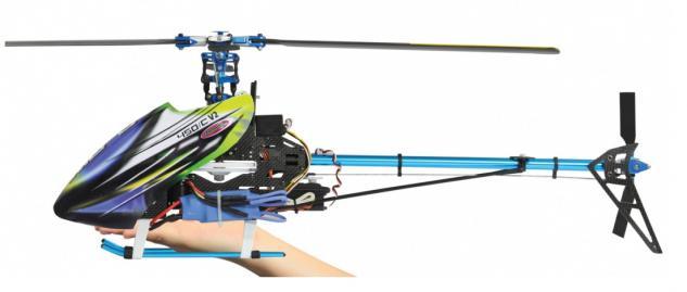 Jamara Hubschrauber E-Rix 450 C. V2 RTF Gas links Helikopter Gyro RC - Vorschau 3
