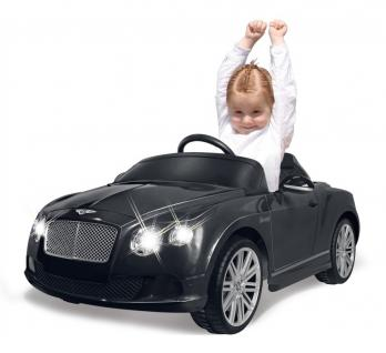 Jamara Kinderauto Elektroauto Elektro Ride on Car Bentley Continental GT schwarz