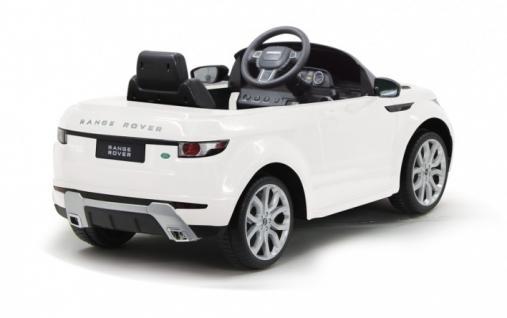 Jamara Kinderauto Elektroauto Elektro Ride on Car Land Rover Evoque weiß - Vorschau 2