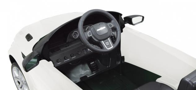 Jamara Kinderauto Elektroauto Elektro Ride on Car Land Rover Evoque weiß - Vorschau 3