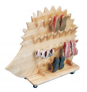 allstars Stiefeligel 25 Paar Holz Stiefelständer Holzständer Etagenständer