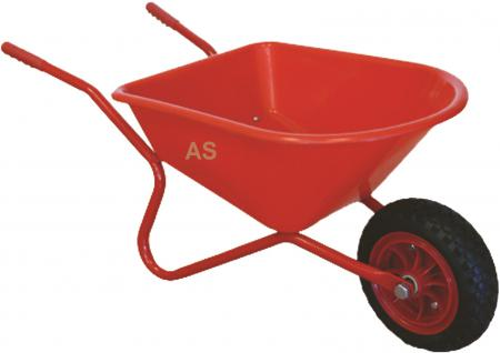 allstars schubkarre sandspielzeug sandkastenspielzeug rot EVA-Rad