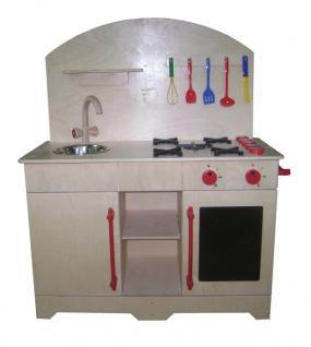allstars Puppenmöbel Puppenküche maxi Holzpuppenküche Spielküche Kinderküche 93, 0 - Vorschau