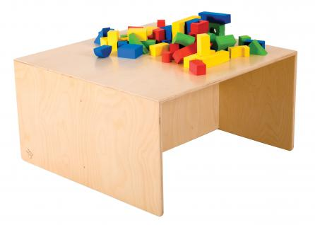 allstars Kindermöbel KiGa Multimöbel Multitisch Tisch Kindertisch Holztisch KiTa