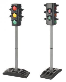 allstars Verkehrsampel Verkehrsampeln 1 Stück elektrische Ampel für Kindergarten