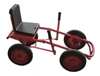 Tretfahrzeug SpaceCar Tretauto Gokart Go-Kart Gocart Go-Cart Tretcart Pedalcart