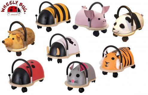 Wheely Bug groß und klein je 3 Maxi und 3 Mini Bobby Buggy Rutscher Buggycar alle Tiere