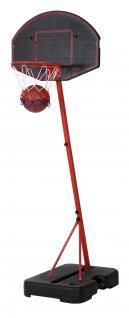 Allstars Basketball Basketballständer mobiler Basketball-Ständer Basketballkorb