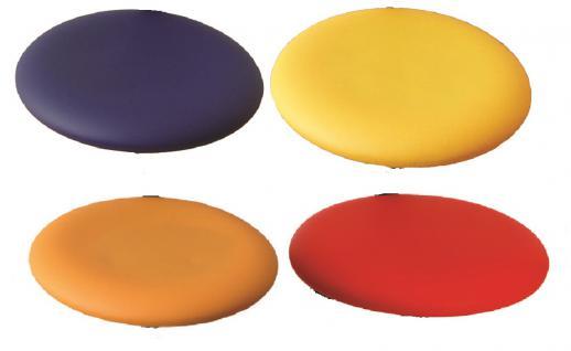 allstars Stuhl Saturn-Stuhl N Rollhocker Drehstuhl Armlehne blau Hocker - Vorschau 3