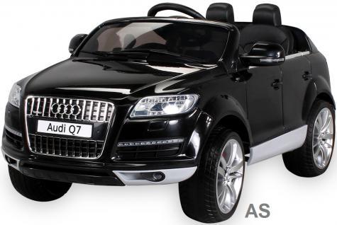 Kinderauto Elektro Audi Q7 E-Auto lizensiert 2x 45W-E-Motor schwarz