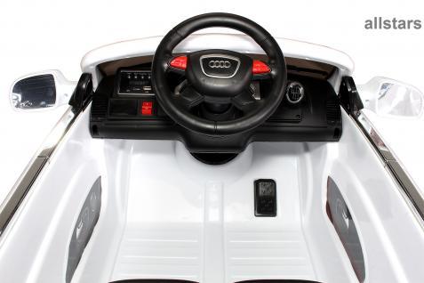 Kinderauto Elektro Audi Q7 E-Auto lizensiert 2x 45W-E-Motor weiss - Vorschau 5