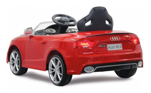 Jamara Kinderauto Audi RS5 Elektroauto Elektro Ride on Car Roadstar Auto rot - Vorschau 2