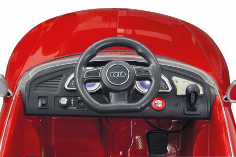 Jamara Kinderauto Audi RS5 Elektroauto Elektro Ride on Car Roadstar Auto rot - Vorschau 3