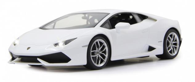 Jamara RC Auto Lamborghini Huracan LP610 1:14 weiß Sportwagen Funk