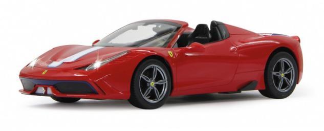 Jamara RC Auto Ferrari 458 Speciale 1:14 rot Sportwagen Funk
