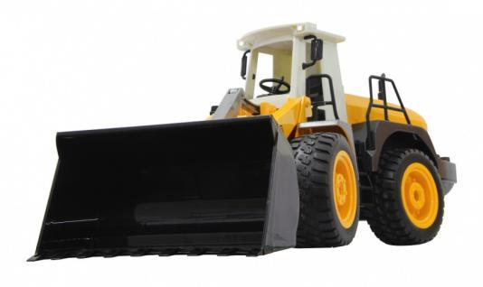 Jamara RC Auto Radlader 440 1:20 Bagger gelb Schaufelradlader Funk