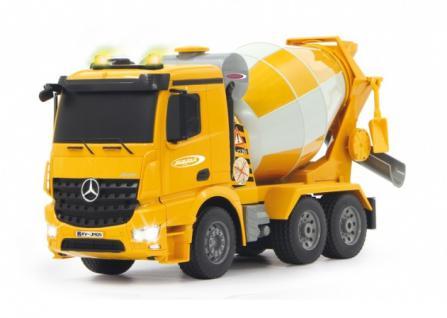 Jamara RC Auto Betonmischer Mercedes Arocs 1:20 Mischer gelb Baufahrzeug Funk