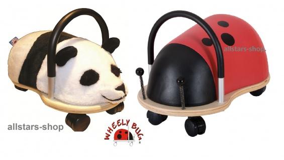 Wheely Bug Rutscher Marienkäfer und Panda Kleinkindrutscher klein 360 Grad rundum allstars