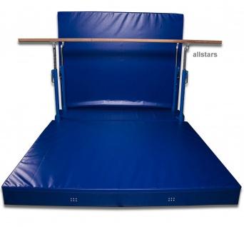 Bänfer Sport Niedersprungmatte klappbar für Stufenbarren Super Sprungmatte - Vorschau 3