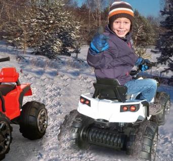 Jamara Kinder-Auto Ride On Quad Protector mit Elektromotor Motorrad weiss - Vorschau 5