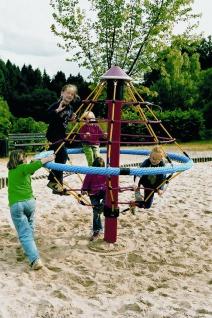 Hally-Gally Karussell Mini-Kletterwirbel Netzpyramide Drehturm Spielgeräte Huck