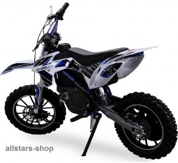 Actionbikes Kindermotorrad Kinder-Crossbike Poketbike Gazelle E-Motorrad blau - Vorschau 2
