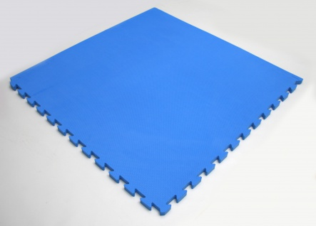 Bänfer Fallschutzmatte Vario Step blau 4 Stück Steckmatte Spielmatte - Vorschau 2