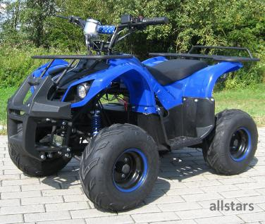 Allstars Kinderquad Elektro-Quad S-8 Farmer E-Quad Elektroquad 1000W blau