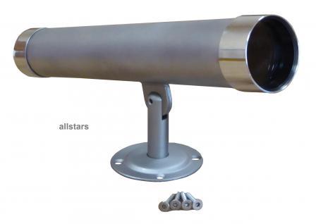 Beckmann Fernrohr Edelstahl Teleskop 31 cm Spielplatz Kinderfernrohr