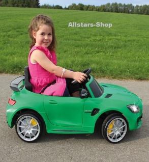 Jamara Kinderauto Elektroauto Mercedes AMG GT R 2, 4 GHz Ride On Car mit E-Motor Selbstfahrer